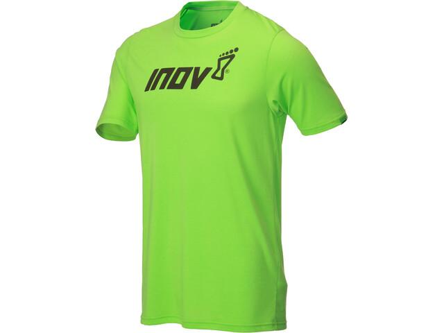 inov-8 Tri Blend Inov-8 Lyhythihainen T-paita Miehet, green